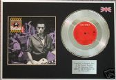 "THE CLASH - SHOULD I STAY OR SHOULD I GO - 7"" Platinum Disc+cover"